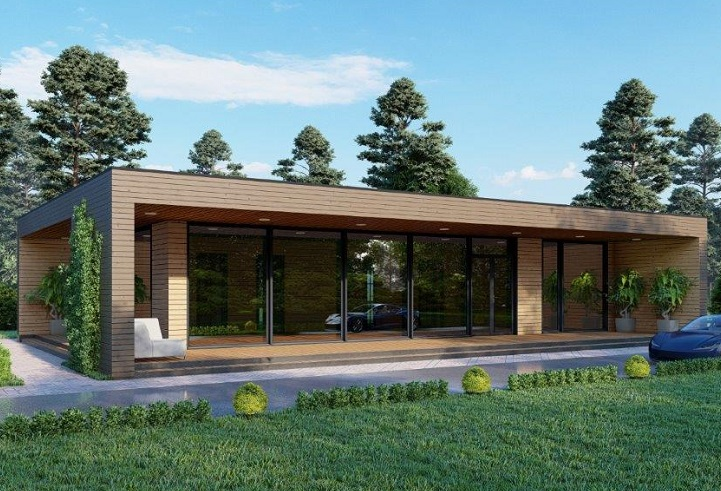 Casa prefabricada 156 – 48.200.-€ + IVA